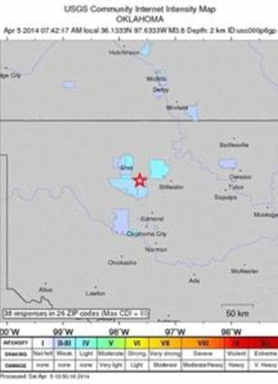 The quakes have set record levels of seismic activity through the state