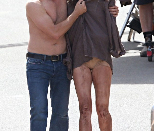 Gritty Transformation Oscar Winner Nicole Kidman Is Left Battered And Bruised On Set Of Her