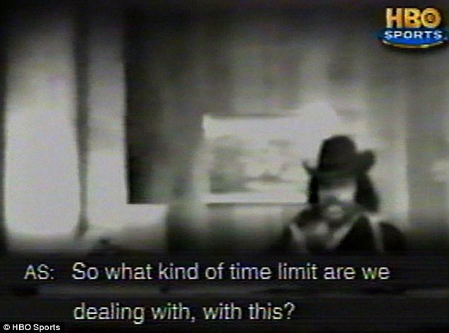 On tape: Footage shows Al Sharpton (in the cowboy hat) unknowingly met with an undercover FBI agent in 1983
