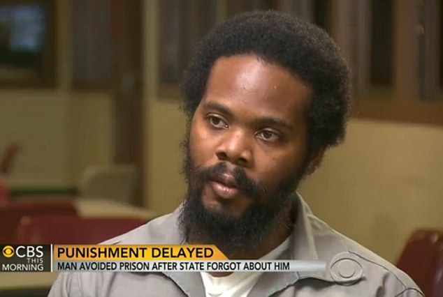 13 years late: Mike Anderson is currently nine months into a 13-year prison sentence for a crime committed in 1999