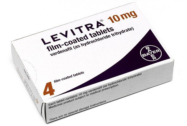 The news has sparked health fears because drugs such as Levitra are usually unsuitable for men with angina or very high blood pressure - and could trigger a heart attack
