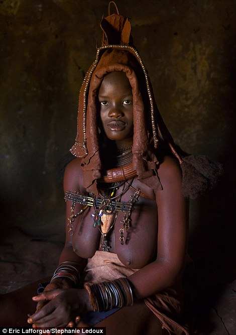 Ready to marry: A Himba bride