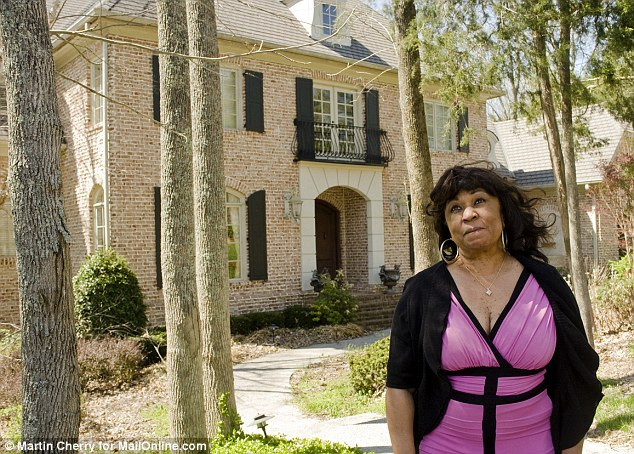 Sad farewell: Barbara Winfrey has been evicted from the marital home in Franklin, Tennessee, she shared with Vernon for over a dozen years. When Oprah called Barbara on her birthday, Oprah told her 'You have until Monday to get out of MY house'