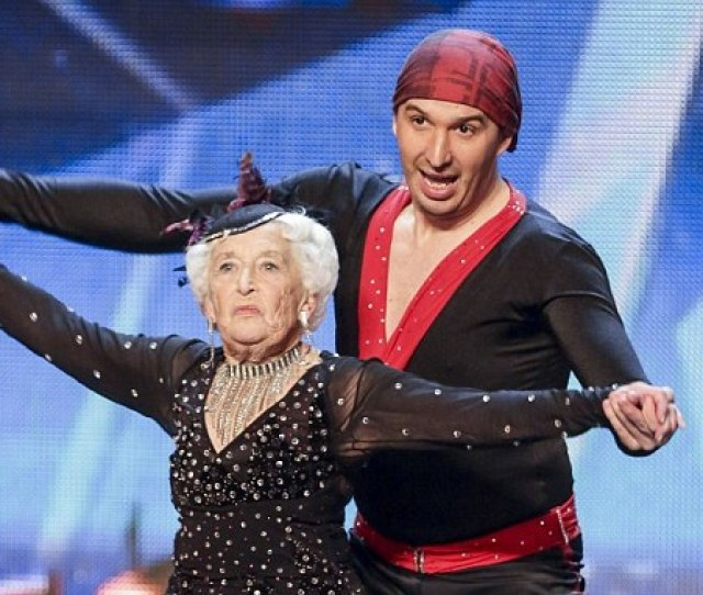Britains Got Talents Dancing Granny Paddy Jones Insists Im No Fraud Daily Mail Online