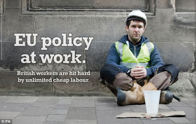 Ukip faced embarrassment today after it emerged the builder in its latest anti-immigration advert was an actor, Dave O'Rourke, who is from Ireland