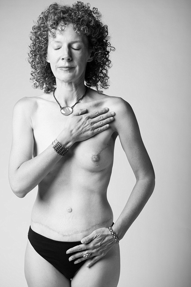 Mother-of-two Gail, 44, credits the photos with helping her recover her self-esteem after battling cancer