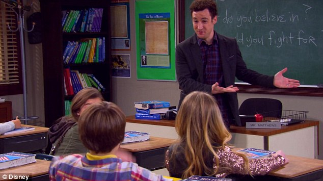 Image result for girl meets world cory teaching