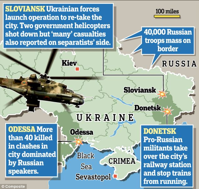 Ukraine: On the brink of all-out war with Russia