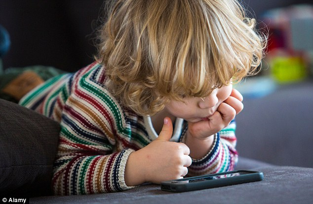However, 60 per cent of the parents of the children in the study believed that playing on touchscreen devices helped with toddlers' learning and development