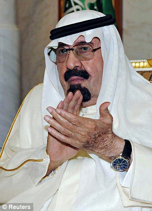 Saudi Arabia's King Abdullah: The King employs a religious police to enforce behaviour that goes against strict Islamic rule