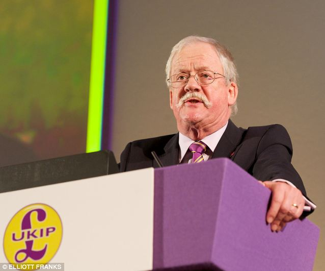 Roger Helmer MEP said he had a 'vague recollection' of what Ms Swann was referring to and described it as 'frankly a load of nonsense'