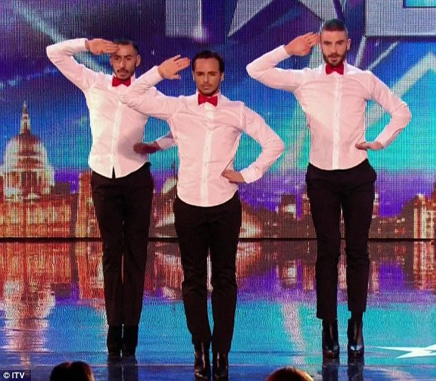 Male French Dance Group Impress The Judges With Sassy