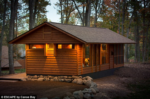 But it also has wheels, so it¿s completely portable, and the owner is in the process of building custom copies for tiny house fans around the world