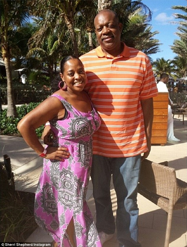 Shedding pounds: Meanwhile, Sherri's estranged husband Lamar Sally bragged about his 50-pound weight loss, which he dubbed the 'divorce diet'