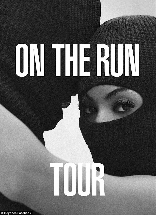 Hitting the road: Meanwhile, Jay & Bey will embark on an 18-date co-headlining summer tour together - dubbed On the Run - which kicks off June 25 at Miami's Sun Life Stadium