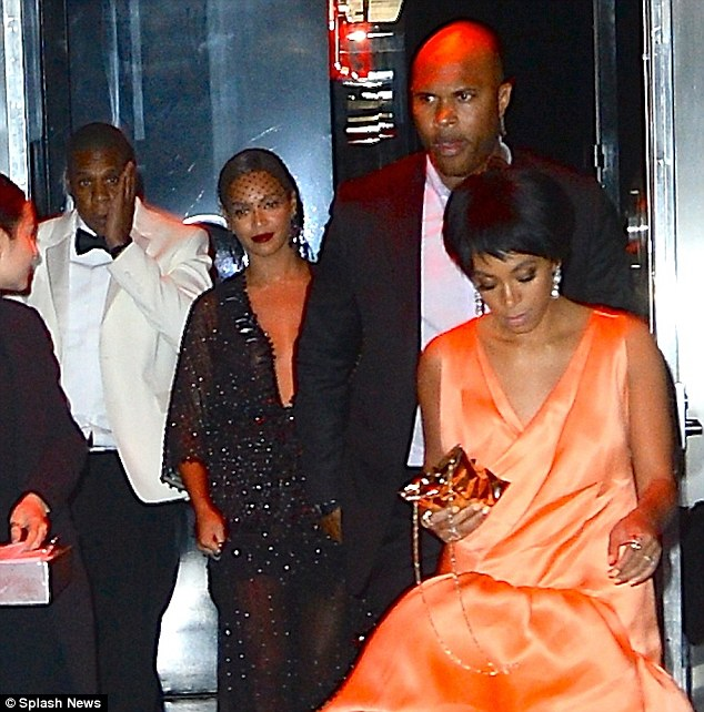 'Rachel is a little too close to Jay Z': Some speculate that Solange flew into a rage because the Holy Grail rapper's relationship with designer Rachel Roy