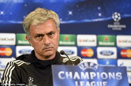 In doubt: Chelsea boss Mourinho was filmed questioning Eto'o's age