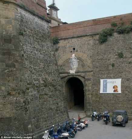 After a period of closure the fortress  was finally reopened last year and Kanye has been hard at work organising the surprise wedding for third time bride Kim, Italian friends say