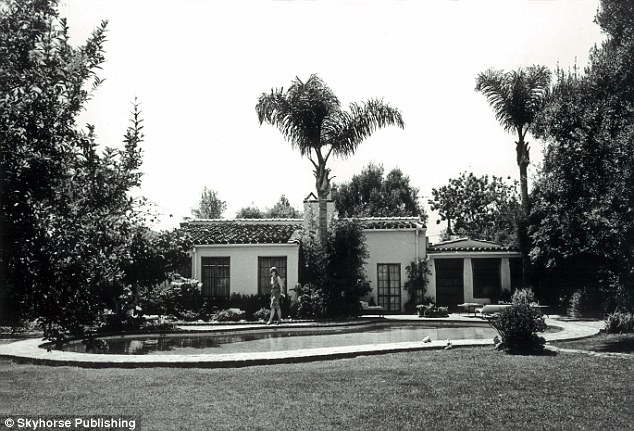 Scene of thew crime: Marilyn's last hours were spent in the guest cottage of her Brentwood home