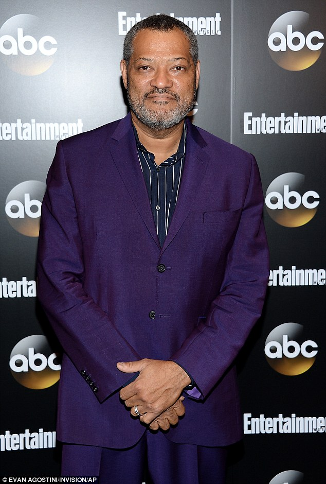 Show publicity: Laurence attends the Entertainment Weekly and ABC network upfront party last Tuesday in New York to promote his new show Black-ish
