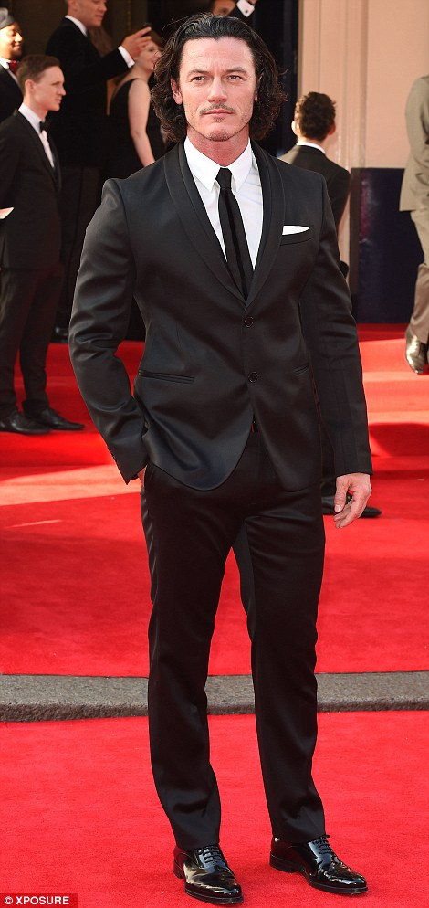 Hollywood: Jeremy Piven and Luke Evans bring some male star shine to the red carpet