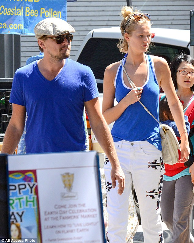 Romance: Leonardo is currently dating Victoria's Secret model Toni Garrn