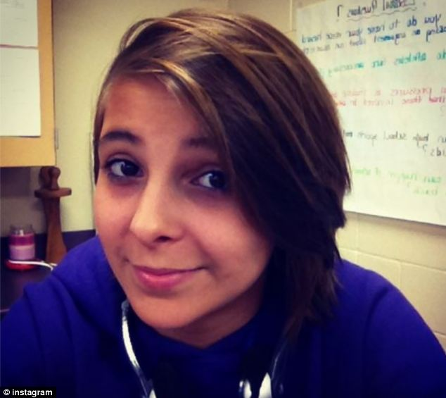 Tragic: Cora Delille, 15, hanged herself on May 10 after enduring years of bullying, her friends have said