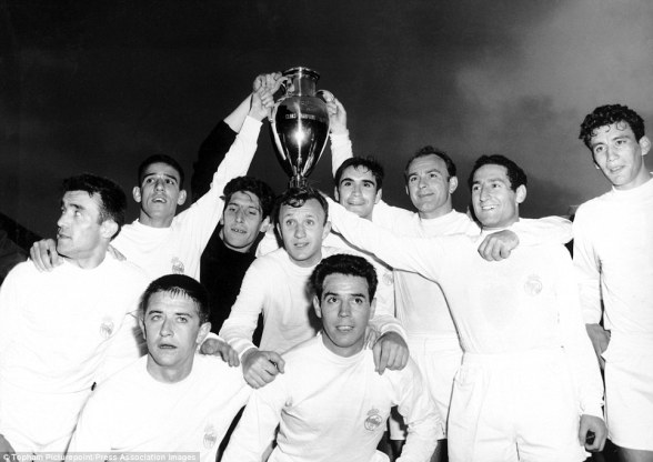 Image result for real madrid 1960