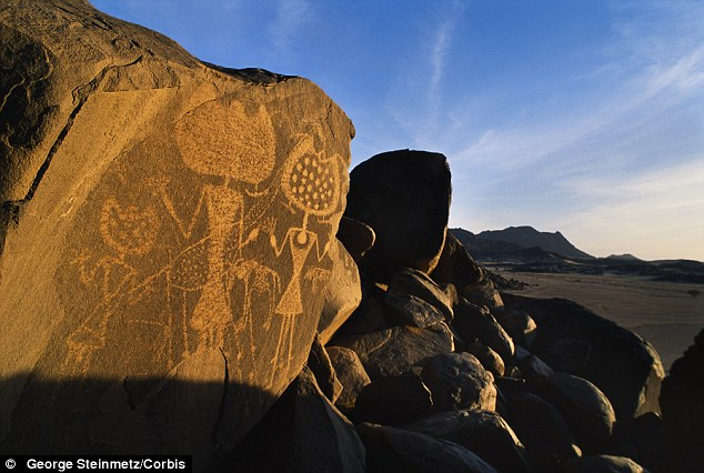 Rock art, an example in Niger pictured, is cited as one possible example of aliens visiting Earth before. Ultimately, however, the authors detail some of the methods we might employ to search for alien life including scouring exoplanets for signs of civilisation