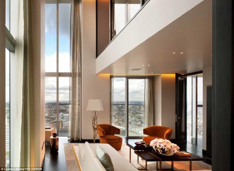 Inside Londons The Heron Luxury Penthouses With Amazing