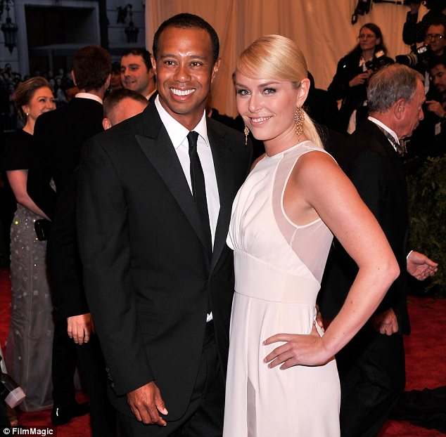 Civilised split: Elin has forgiven Tiger for his cheating and even has a friendly relationship with his new girlfriend Lindsey Vonn