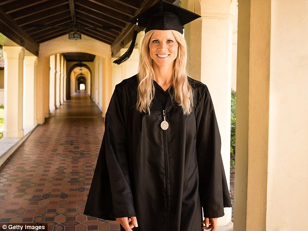 High achiever: Elin received the Hamilton Holt Outstanding Senior Award for the Class of 2014 during her graduation from Rollins College