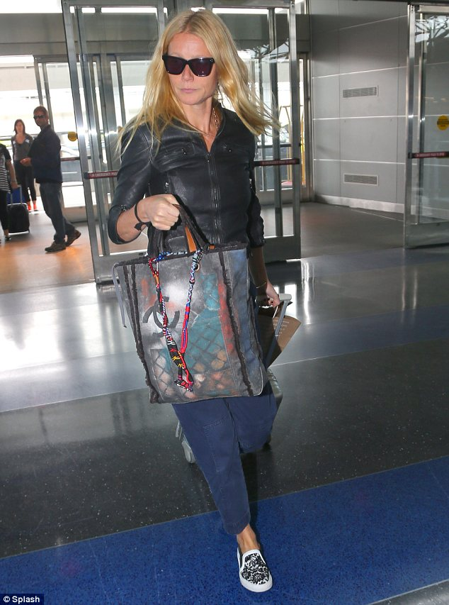 Gwyneth Paltrow Is Latest To Carry Chanels 3800