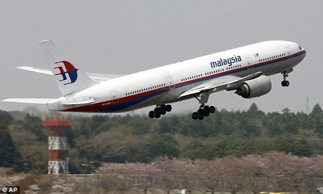 Angry: Family of the missing MH370 passengers have written an 18-page letter to the Prime Ministers of Australia and Malaysia demanding answers. A stock picture of the plane is shown in this photo