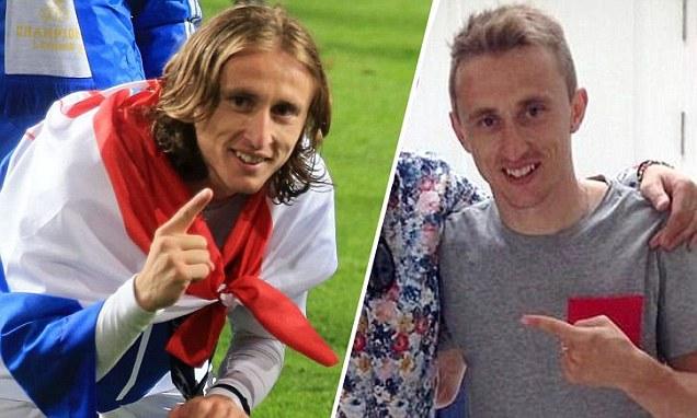 Luka Modric Celebrates Real Madrids La Decima By