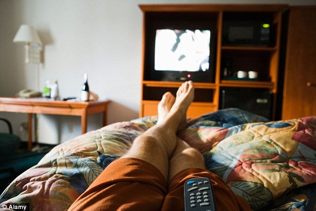 In-room entertainment: Denying watching adult films also features on the Thrillist report