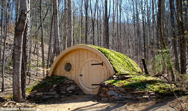 A piece of the Shire: A company in Maine has been manufacturing Hobbit holes based on the underground homes featured in the Lord of the Rings books