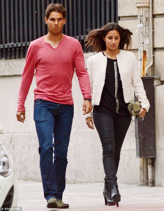 Rafael Nadal steps out with girlfriend Xisca Perello for ...