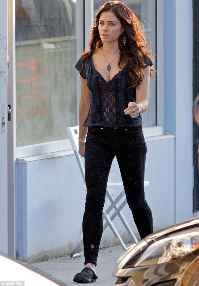 Jenna Dewan Tatum Reveals Her Charms In Sheer Top As She