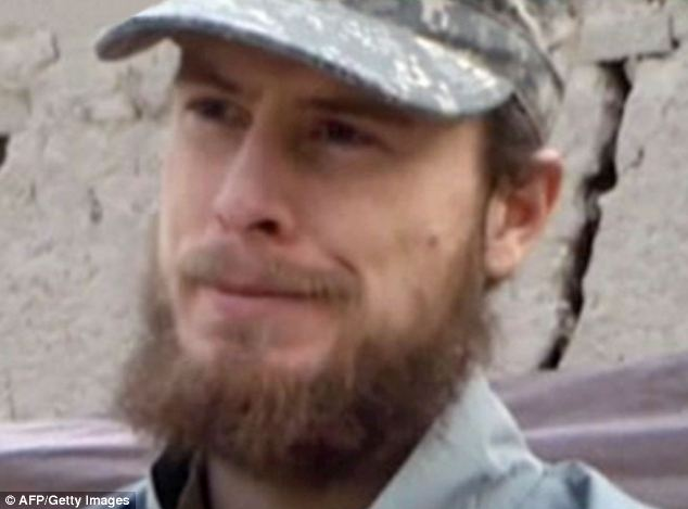 Days after his rescue, Bergdahl (pictured in a video released by the Taliban in 2010) was in stable condition at a U.S. military hospital in Germany