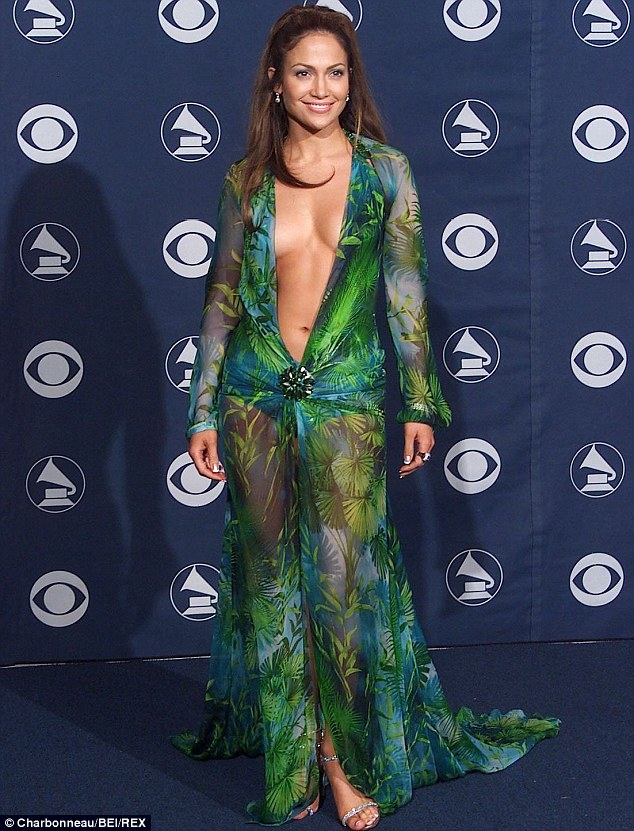 Iconic: Jennifer's dress for the Grammy Awards in 2000 is considered to be one of the most iconic dresses of all time