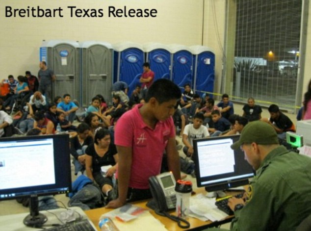 Lackland has become a temporary shelter for youths caught crossing the border illegally and alone