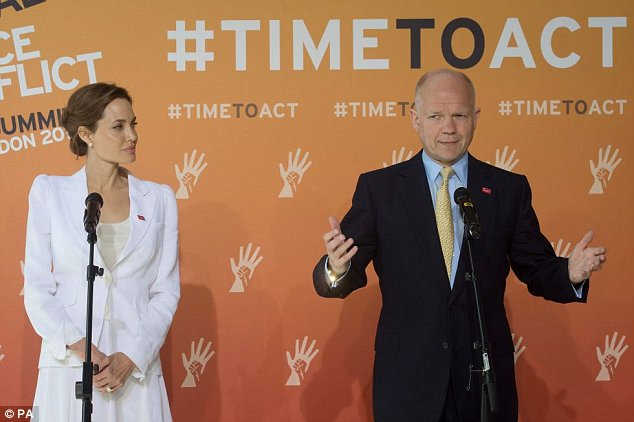 William Hague and Angelina Jolie have formed an unlikely partnership in their battle to end sexual violence in war