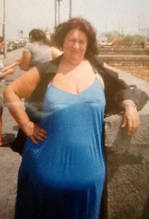 Catherine De La Rosa, 54, was just 5ft tall but weighed 23st