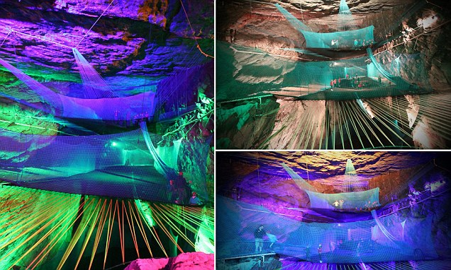Worlds Largest Underground Trampoline To Open In Enormous