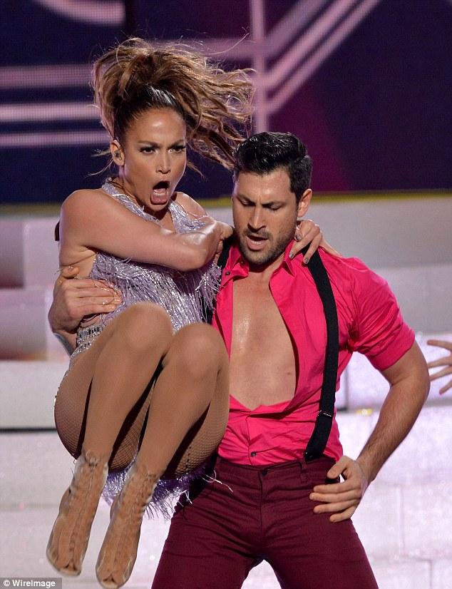 Jennifer Lopez Maksim Chmerkovskiy