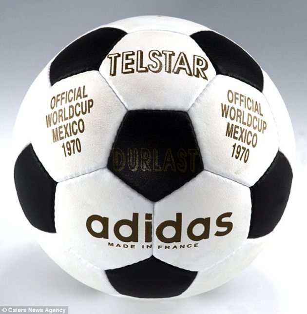 Image result for 1970 fifa world cup match ball