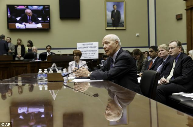 Koskinen testified under subpoena just hours after the Oversight Committee subpoenaed yet another witness, a White House lawyer who was promoted from her previous job advising the IRS on how to respond to congressional inquiries