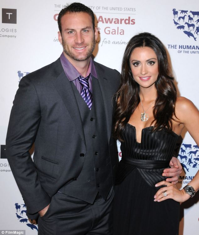 Tragic: Andrew Stern, who is married to model Katie Cleary, has shot himself dead at a shooting range