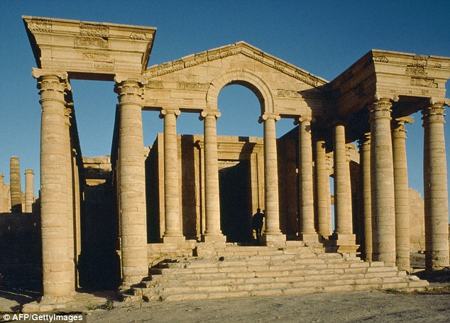 Concerns: The elegant ancient city of Hatra in Iraq, dating to the third century BC, which is under threat
